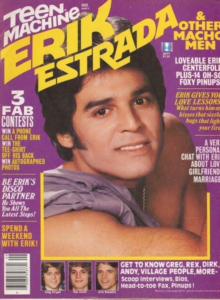 Teen Machine Erik Estrada