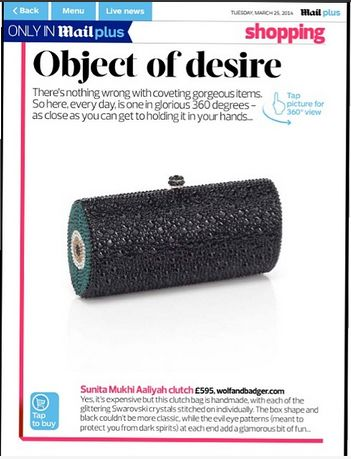 our clutch on Dailymail.com