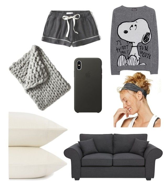 """""""Untitled #19"""" by jasmimosa on Polyvore featuring Abercrombie & Fitch, Princess Goes Hollywood, Apple, UGG and Serena & Lily"""