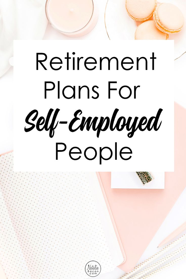 One of the biggest mistakes you can make is not saving for your own retirement. The retirement plans for self-employed people can help!