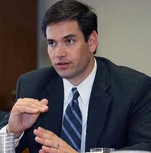 """""""We don't need new taxes. We need new taxpayers, people that are gainfully employed, making money and paying into the tax system. And then we need a government that has the discipline to take that additional revenue and use it to pay down the debt and never grow it again."""" -- Marco Rubio, Florida Senator"""