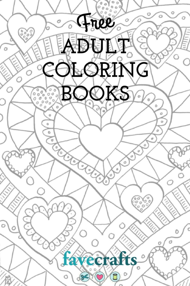 9 Free Printable Coloring Books (PDF Downloads) | Free Adult ...