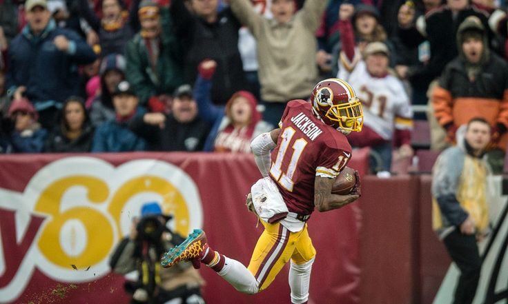 Redskins' WRs DeSean Jackson and Josh Doctson both limited = The Redskins are banged up at wideout, just two weeks into the year. Top wideout DeSean Jackson was limited in practice today with a knee/ankle injury. Rookie WR Josh Doctson was also limited with his Achilles issue. While it's.....