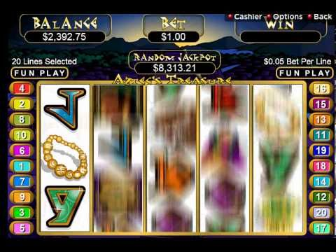 best online casino games aztec