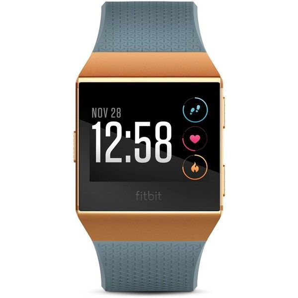 Fitbit Ionic Watch ($300) ❤ liked on Polyvore featuring men's fashion, men's jewelry, men's watches, mens stainless steel watches and mens white watches