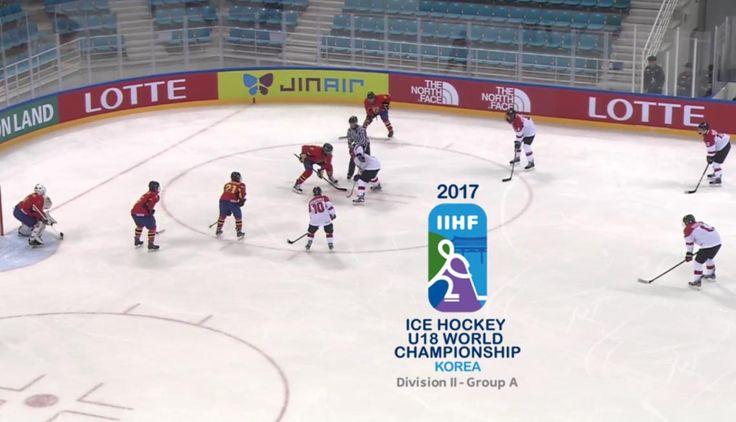 Hochei masculin: Naționala României U18 s-a impus în meciul trei de la Campionatul Mondial