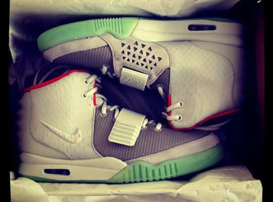 aa2c93bab34a4 Celebrities Getting Their Nike Air Yeezy 2 Early