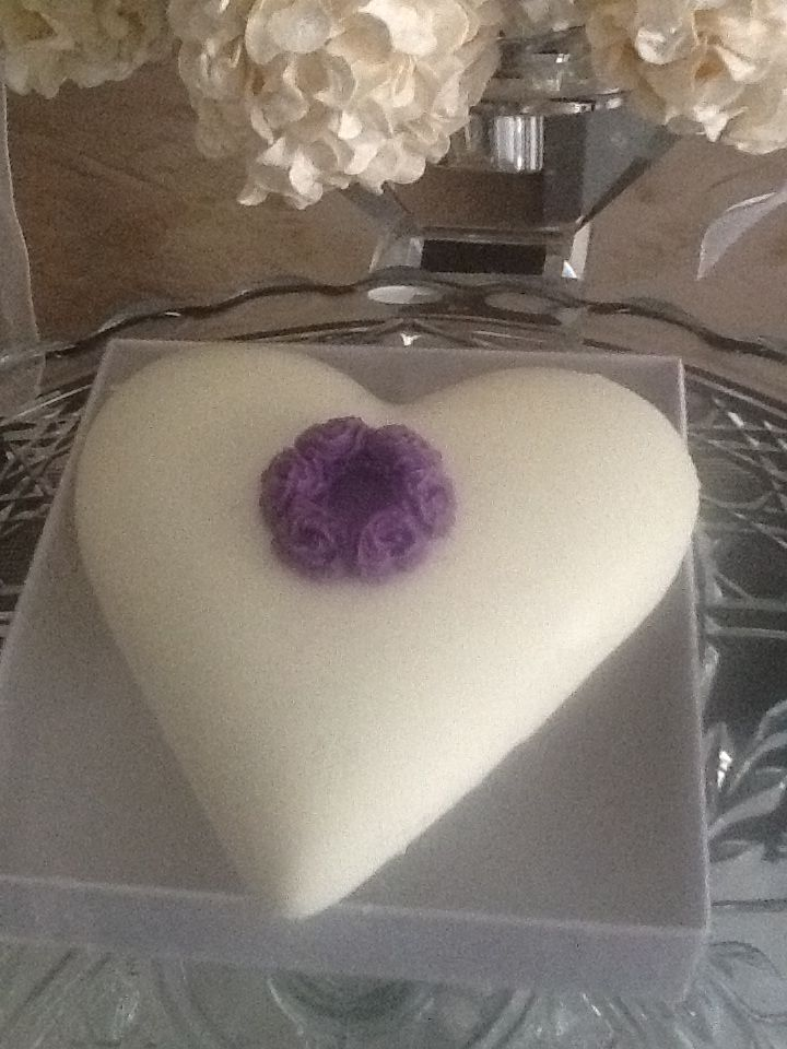 Solid White Chocolate Favour