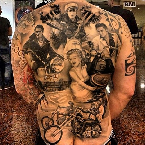 Tattoo Ideas Elvis: Elvis Presley Tattoos