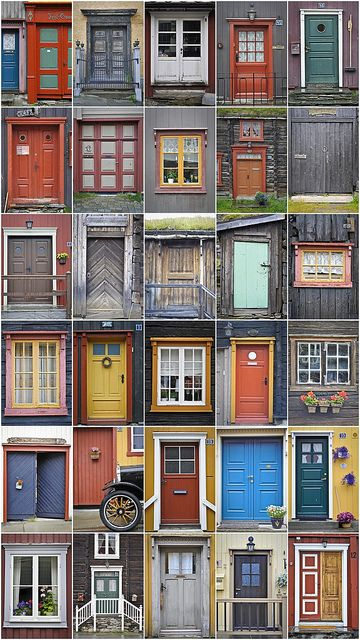 Doors of Norway @bobnetterville