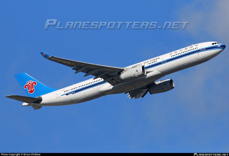 B-6501 China Southern Airlines Airbus A330-343