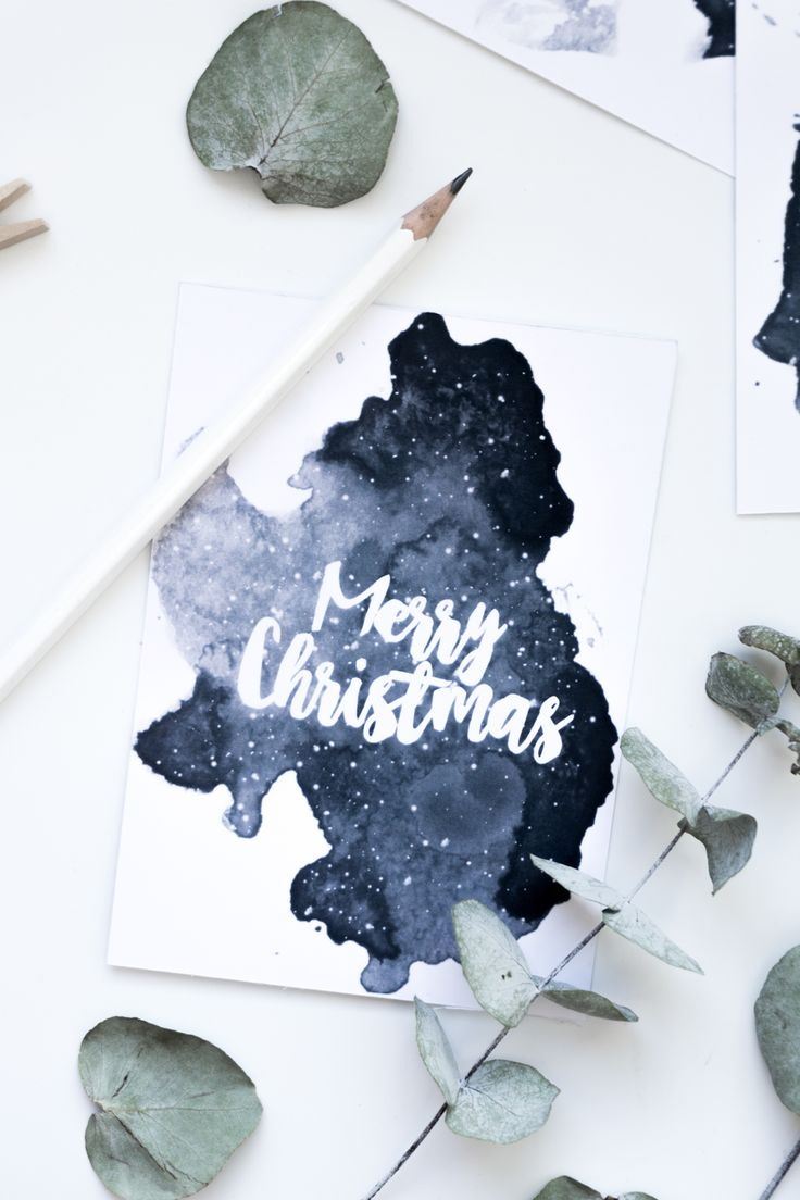 Freebie zum Ausdrucken: Aquarell Weihnachtskarten zum gratis Download auf dem Blog | Free Printable deutsch | Basteln für Weihnachten | DIY Geschenkidee | #freebies #weihnachtskarten '#diy #vorlage