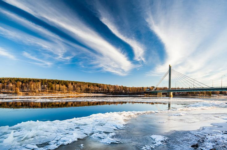 Spring - when the ice breaks and nature is reborn -Rovaniemi, Lapland, Finland