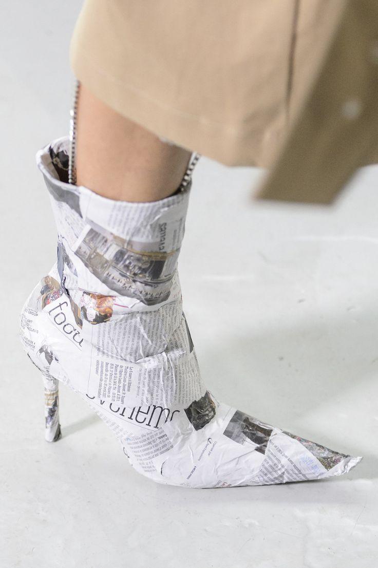 Anne Sofie Madsen at Paris Fashion Week Fall 2017 - Details Runway Photos