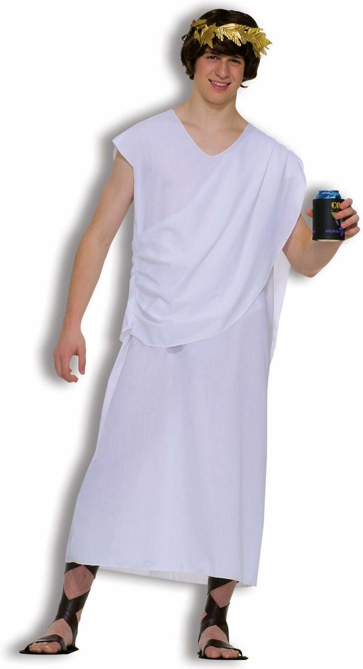 Diy toga costume meningrey 17 best images about party stuff on pinterest unisex solutioingenieria Gallery
