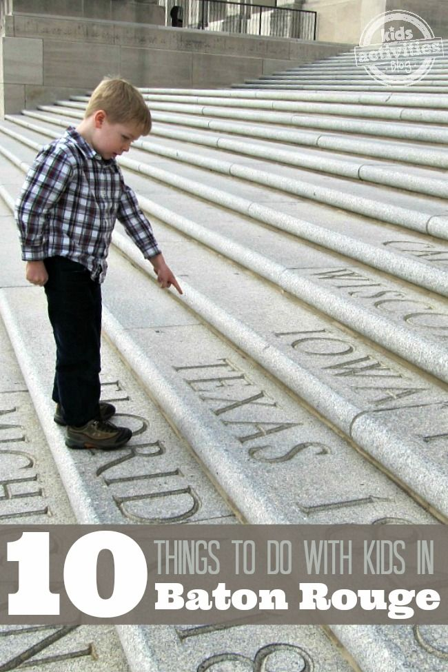 Great family vacation! 10 Things to Do with Kids in Baton Rouge, LA - http://kidsactivitiesblog.com/45709/things-to-do-with-kids-in-baton-rouge-la - There are so many great activities for kids in Baton Rouge Louisiana!