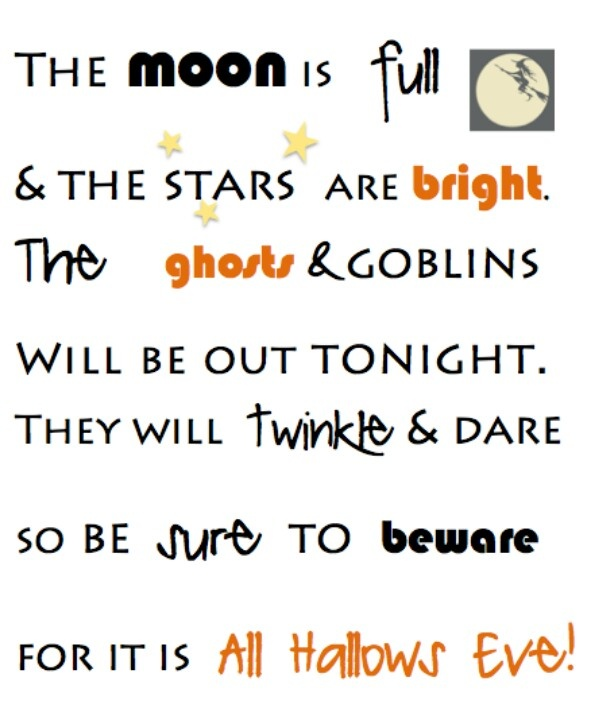 Beware Printable {Halloween Printable}   C.