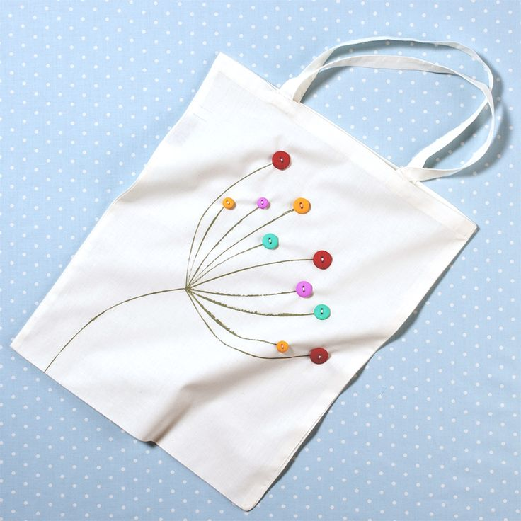 Hobbycraft Calico Cotton Tote Bag | Hobbycraft Lovely bag pattern idea