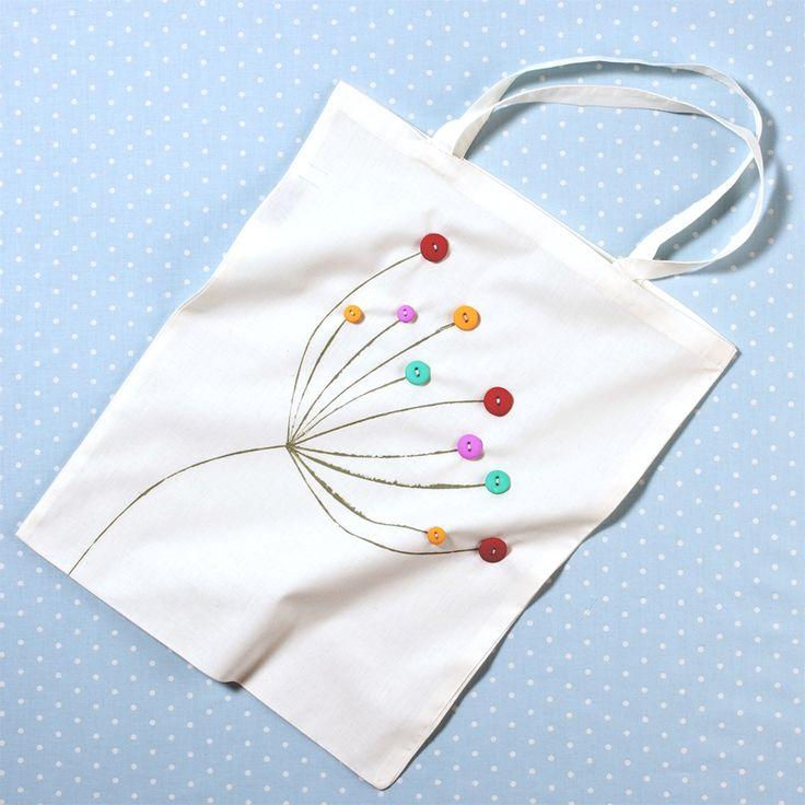 Natural Calico Cotton Shopping Bag 40 X 38 Cm | Hobbycraft