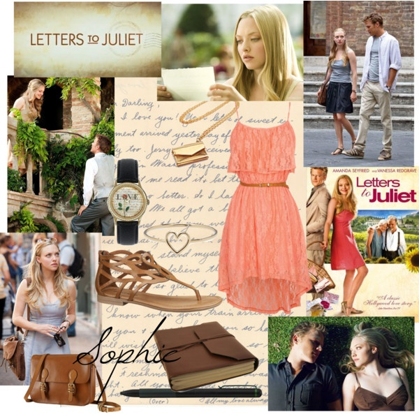 """Letters to Juliet"" by reya-selene ❤ liked on Polyvore"