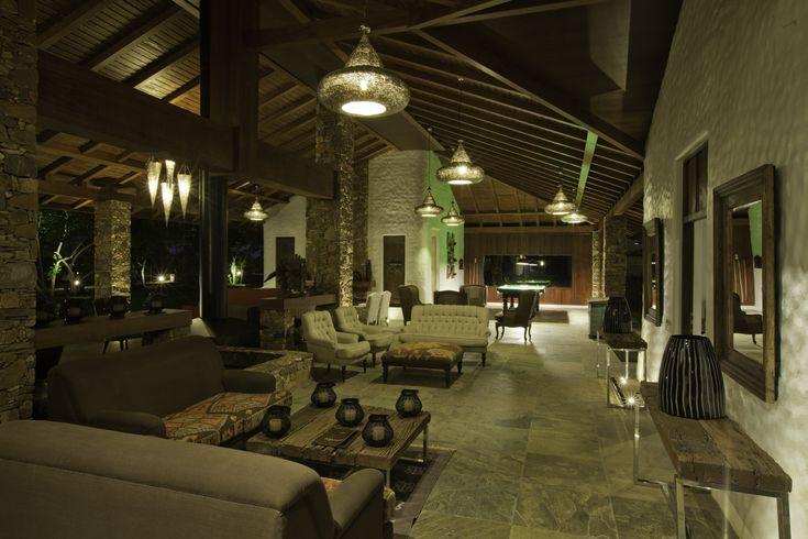 Lobby at The Serai Bandipur.