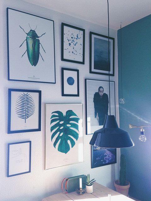 Monstera & Cocos Plant Prints // By Garmi