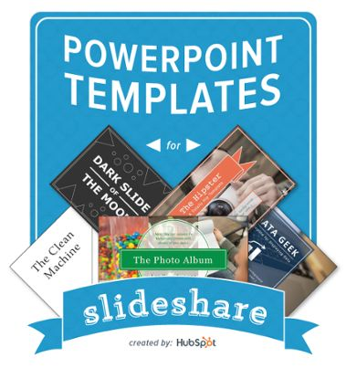Check out these helpful and easy-to-use PowerPoint templates for SlideShare http://offers.hubspot.com/powerpoint-template-for-killer-slideshare-presentations?&utm_content=buffer2da6a&utm_medium=social&utm_source=pinterest.com&utm_campaign=buffer via HubSpot