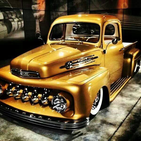 Old School Ford Truck