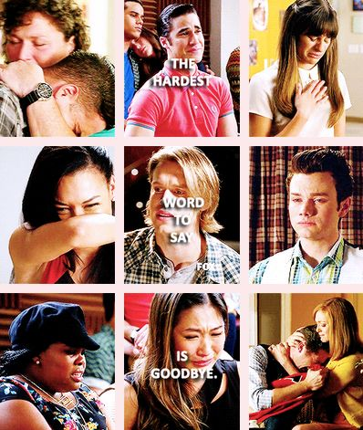 Glee-The Quarterback. I finally watched this episode for the first time today, and I didn't last one minute without crying!! I miss Cory so much, RIP Cory and Finn!! #CoryMonteith