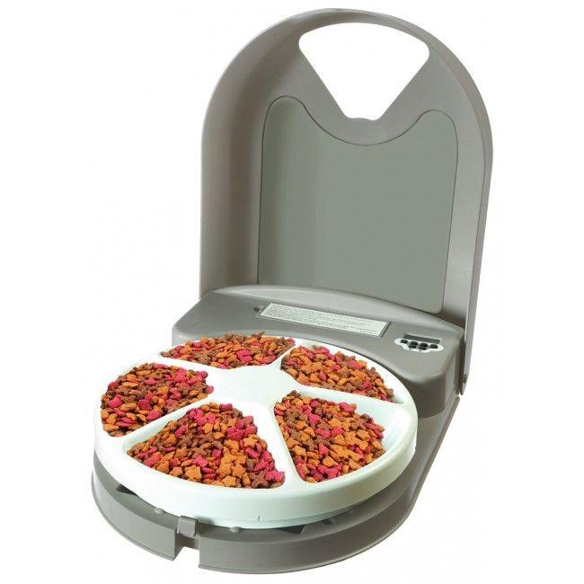 Alimentador Comedouro Automático com 5 Divisórias para Cães e Gatos - PetSafe - Petshop