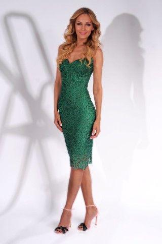 Beautiful lace dress special for an amazing summer event https://missgrey.org/en/dresses/cocktail-lace-dress-with-sequins-in-emerald-hues-ella/544?utm_campaign=iulie&utm_medium=rochie_ella_smarald&utm_source=pinterest_produs