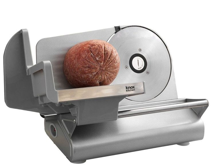 Electric Meat Slicer Deli Commercial Food Industrial Restaurant Cutter Blade New #Knox