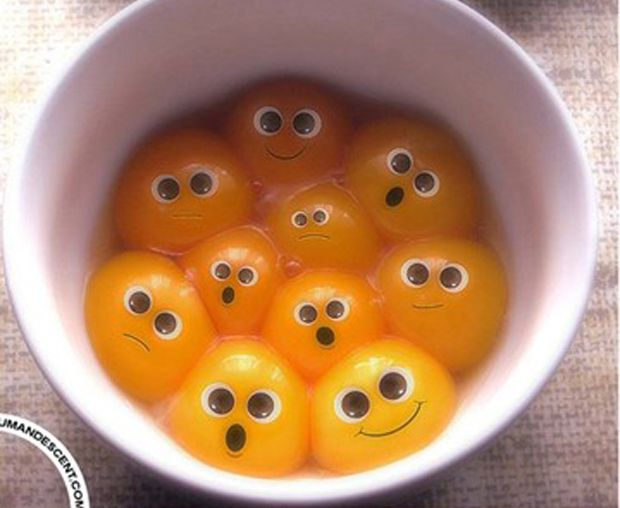 Funny Egg Photography – 16 Pics This makes me want to take a sharpie to people eggs when they aren't looking lol