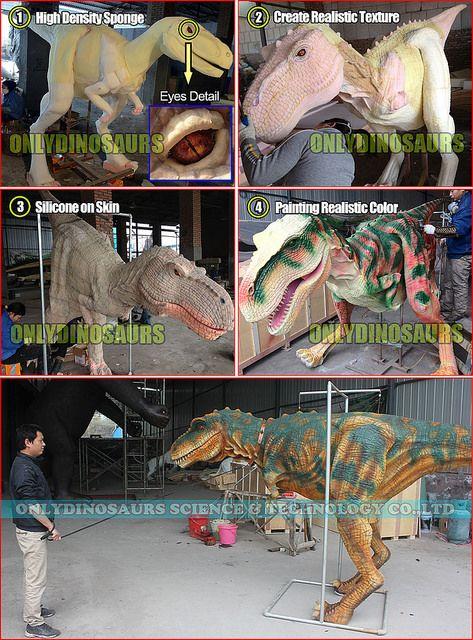 How we Make Dinosaur Suit by ONLYDINOSAURS, via Flickr