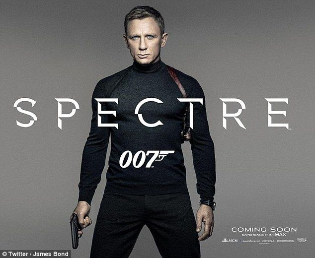 He's back! The first teaser poster for the new James Bond movie Spectre has been revealed,...