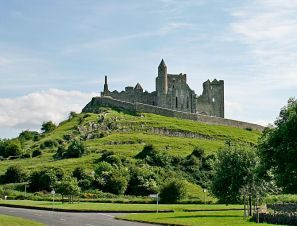 Rock of Cashel in Ireland. I love the idea of wandering through ruins and learning the history of these places.