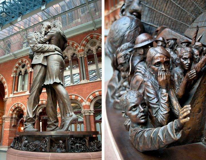 London's St Pancras station: Saved by a poet