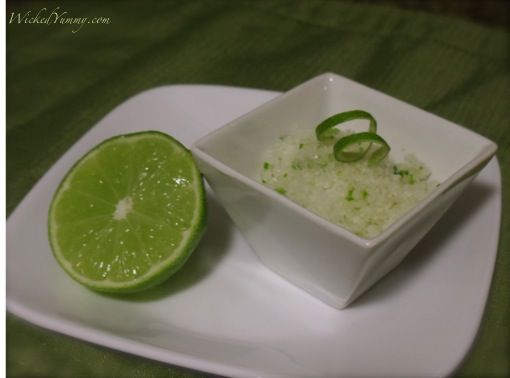 How to make Tequila Lime Salt