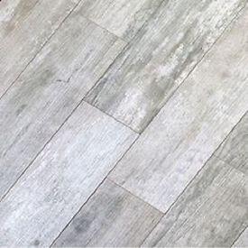 Gray Vinyl Flooring That Looks Like Wood 35 Sq Ft 8x48 Weathered Board