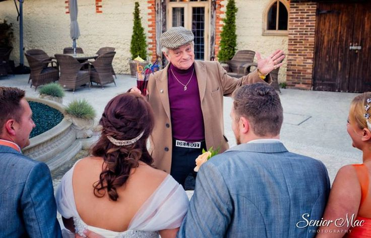 Celebrity hire for wedding
