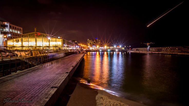 Tel-Aviv Port at night by Michael Daniel on 500px