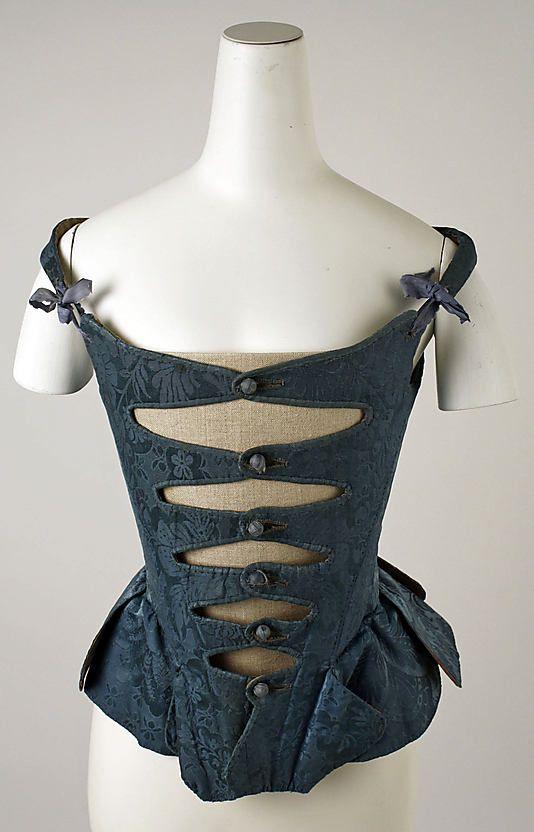 European corset, late 18th century