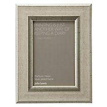 "Buy John Lewis Champagne Linen-Effect Photo Frame, 4 x 6"" (10 x 15cm) Online at johnlewis.com"