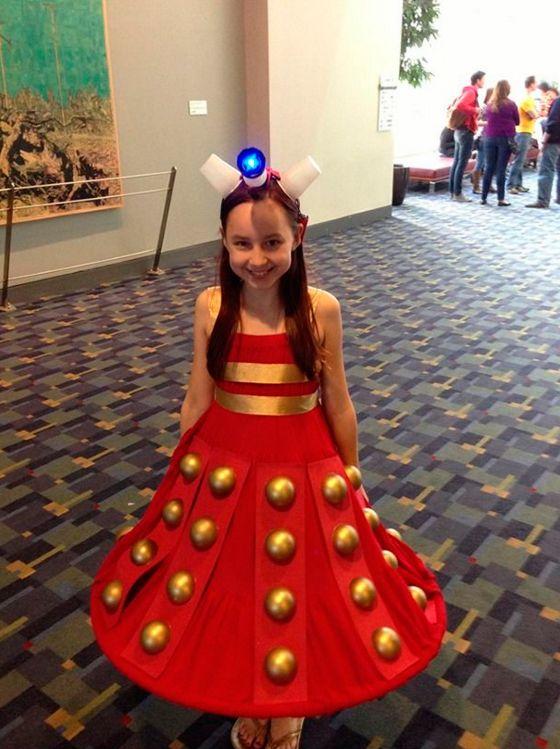 13 Niñas que prefirieron no usar el disfraz de princesa