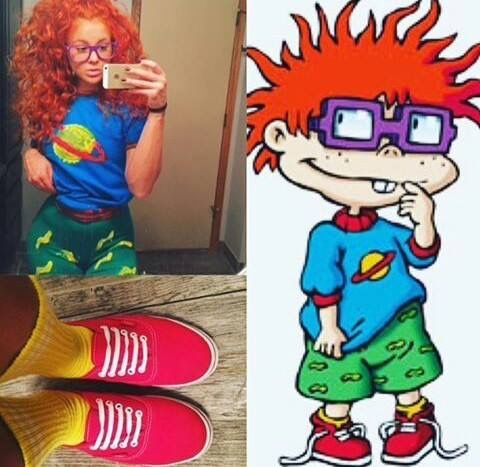 Halloween costume chuckie finster rugrats                                                                                                                                                                                 More