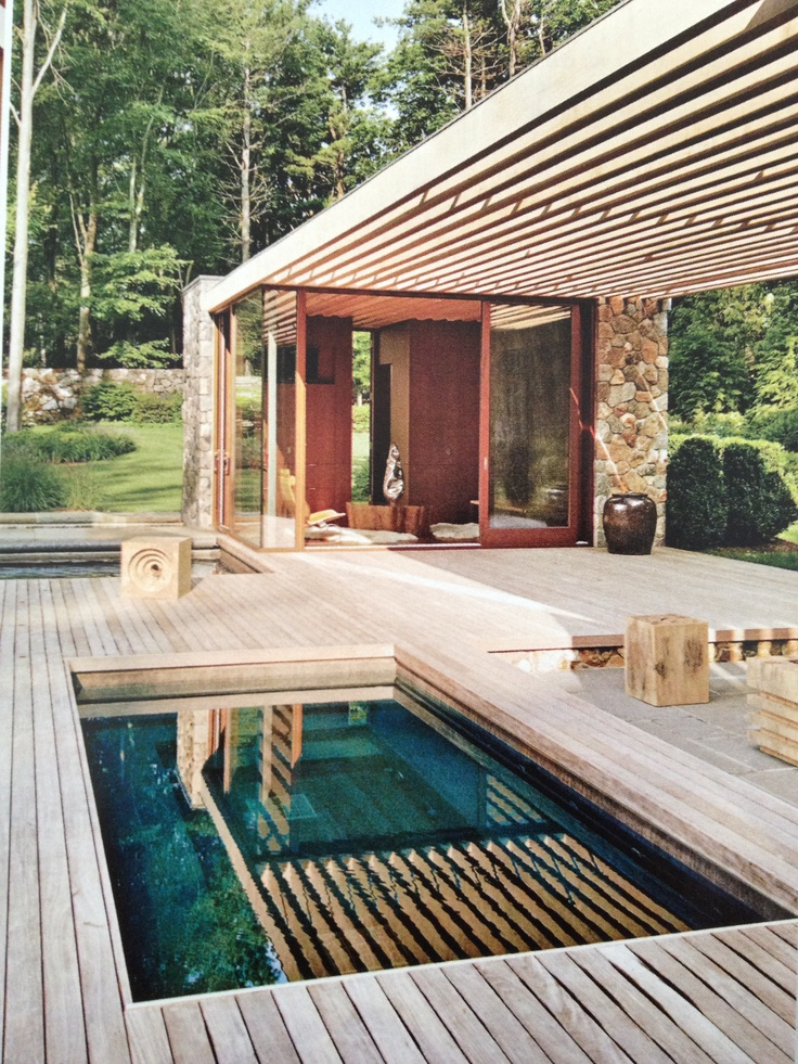 ipe decking with small pool 100 best