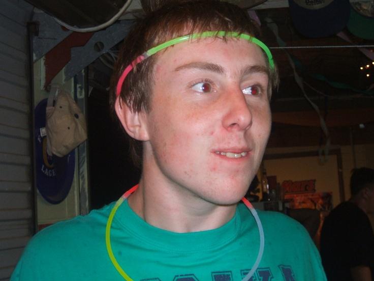 my youngest,Luke. NYE 2009