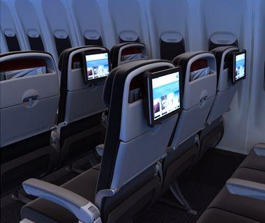 Jetstar - Economy-Class Innovation: iPad brackets.