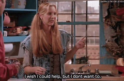 """E você nunca terá um amigo tão honesto quanto a Phoebe.   24 mentiras que """"Friends"""" nos contaram sobre a vida adulta"""