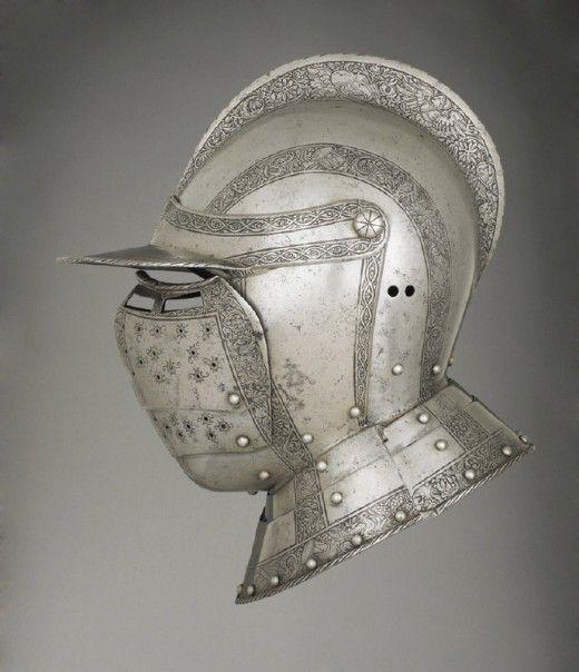 German Helmet 1500's